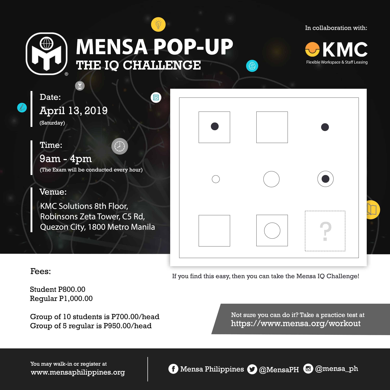 IQ Test – Mensa Philippines