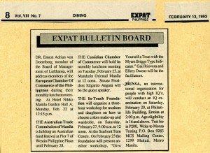 19930213 Expat - Testing